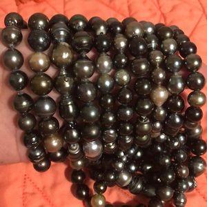 Tahitian Pearl Elastic Bracelet